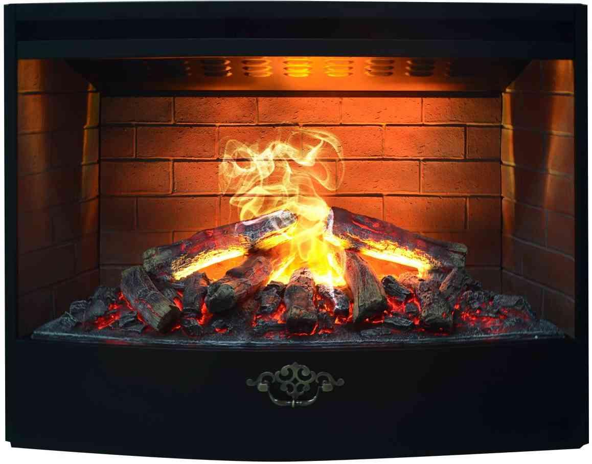Встраиваемые электрические камины: красота и чистый воздух в доме | 907x1158